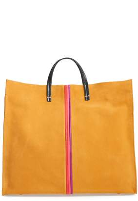 Clare Vivier Simple Stripe Nubuck Tote
