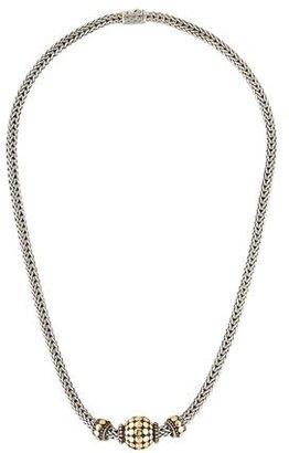John Hardy Sliding Dot Classic Chain Pendant Necklace $495 thestylecure.com