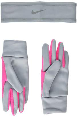 Nike Run Thermal Headband and Gloves Set Athletic Sports Equipment