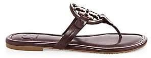 Tory Burch Women's Metal Miller Slides Sandals