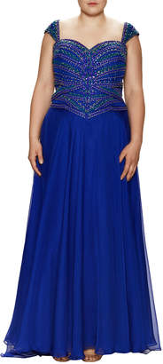 Mac Duggal Macduggal Embellished Sweetheart Gown