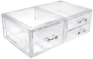 Sorbus Makeup Storage Case Display, 3 Drawers