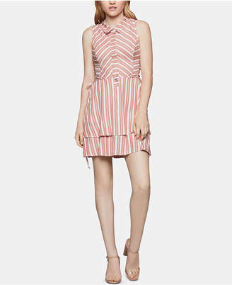 3a871f662a2 BCBGeneration Striped Tiered Fit   Flare Dress