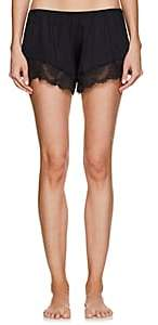 Hanro Women's Laila Lace-Trimmed Shorts - Black