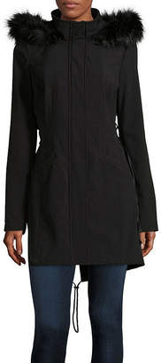 A.N.A Hooded Water Resistant Midweight Softshell Jacket