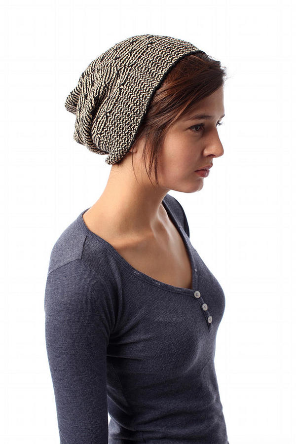 Pointelle Eco Cotton Beret
