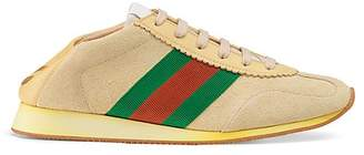Gucci Women's Suede & Leather Sneakers