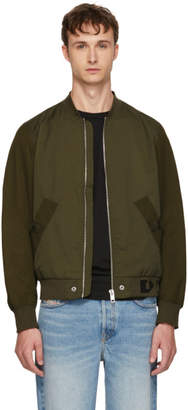 Diesel Green J Gate Bomber Jacket