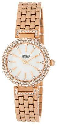 42bf01114f2e at Nordstrom Rack · Badgley Mischka Swarovski Crystal Bracelet Watch