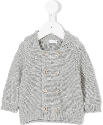 Il Gufo double button knitted cardigan
