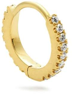 Maria Tash - 18kt Gold And Diamond Single Earring - Womens - Gold