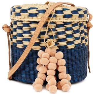 A.N.A NANNACAY Straw Bucket Bag