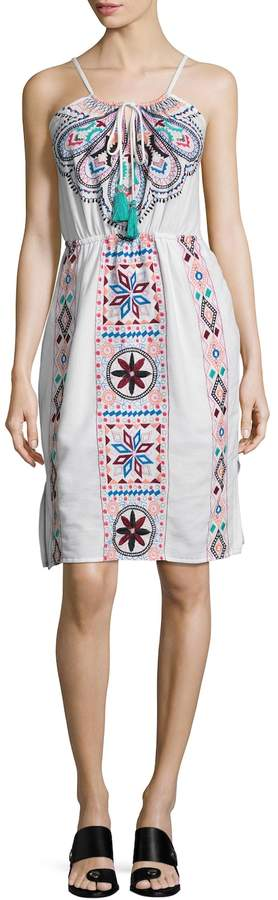 Plenty by Tracy Reese Women's Embroidered Flare Dress