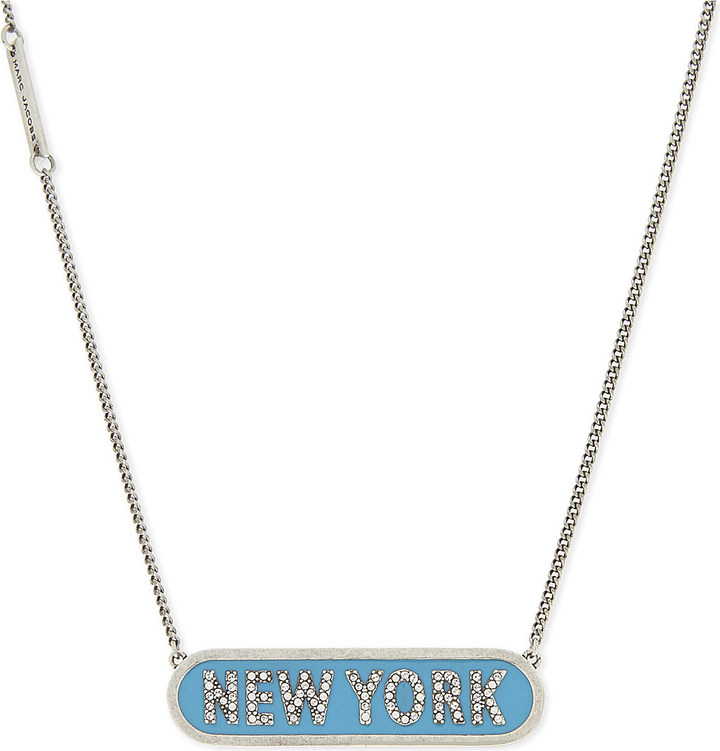 Marc Jacobs MARC JACOBS New York necklace