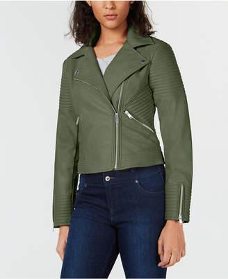 Bar III Quilted Moto Jacket