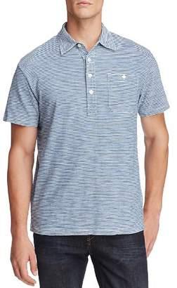 OOBE Fairfield Stripe Short Sleeve Polo Shirt
