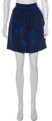 Alice + Olivia Knee-Length Jacquard Skirt