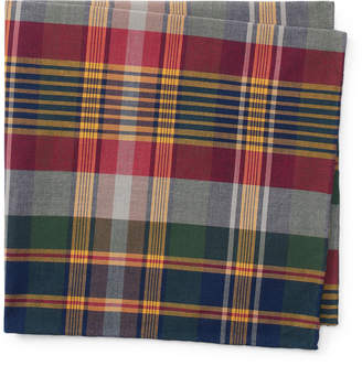 Cotton Madras Pocket Square