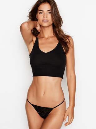 Victoria's Secret Stretch Cotton Leopard V-String Panty