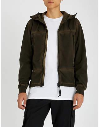 C.P. Company Fleece-lined woven jacket