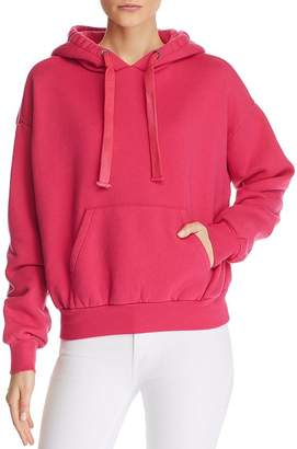 Pam & Gela Pleat-Back Hooded Sweatshirt