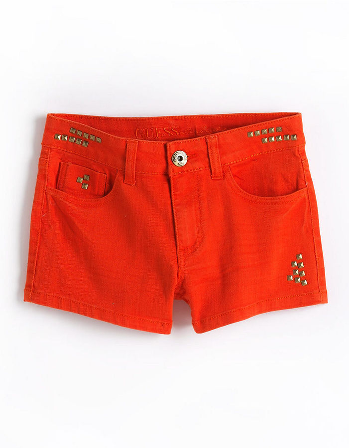 GUESS Tweens 7-16 Studded Shorts