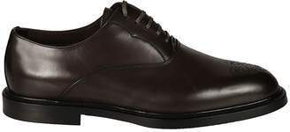 Dolce & Gabbana Brogue Detail Derby Shoes