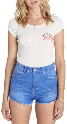 Women's Billabong High Drive Cutoff Denim Shorts $49.95 thestylecure.com