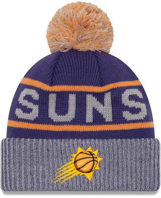 New Era Phoenix Suns Court Force Pom Knit Hat