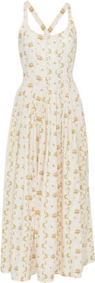 Brock Collection M'O Exclusive Onorata Floral Cotton Dress