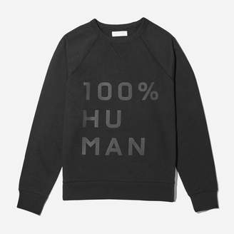 Everlane The 100% Human Unisex French Terry Sweatshirt in Large Print