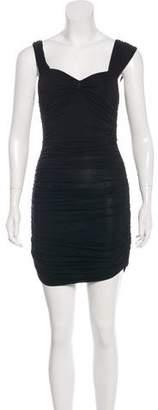 Celine Ruched Mini Dress