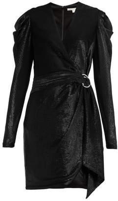Jonathan Simkhai Draped Wrap Mini Dress - Womens - Black