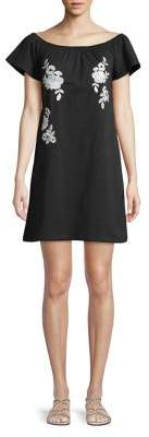 Dorothy Perkins Embroidered Shift Dress