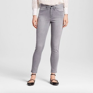 Mossimo Women's High Rise Skinny Dion Gray - Mossimo $29.99 thestylecure.com