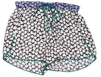 Aquilano Rimondi Aquilano.Rimondi Silk Printed Shorts