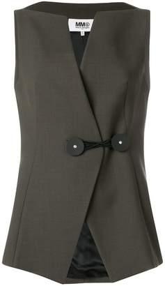 MM6 MAISON MARGIELA tailored waistcoat