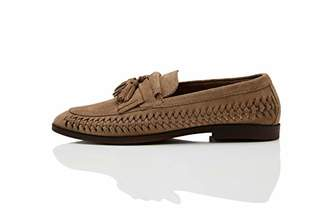 Amazon Brand - find. Men's Woven Leather Loafer