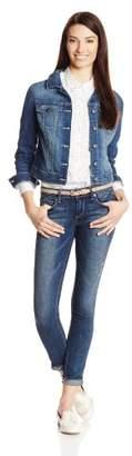 "Jessica Simpson Women's ""Pixie Coated Suede"" Jacket"