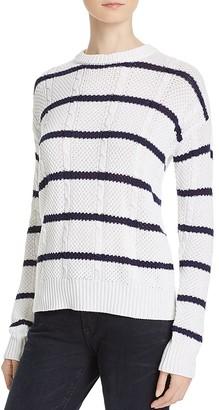 Rails Natasha Crew Stripe Sweater $158 thestylecure.com