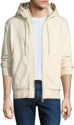 Moncler Men's Hooded Zip-Front Sweatshirt