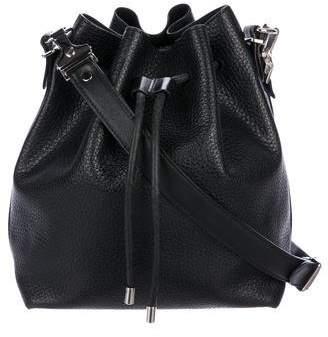 Proenza Schouler Grained Leather Bucket Bag