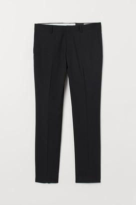 H&M Super Skinny Fit Suit Pants - Black