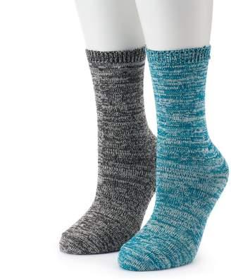Columbia Women's 2-Pack Marled Crew Socks