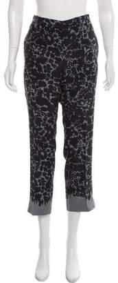 Prada Silk Patterned Pants
