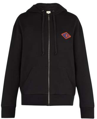 Gucci Panther Cotton Hooded Sweatshirt - Mens - Black