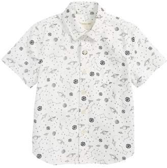 Tucker + Tate Print Woven Shirt (Toddler Boys & Little Boys)