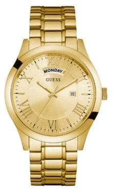 GUESS Iconic Metropolitan Stainless Steel Analog Watch