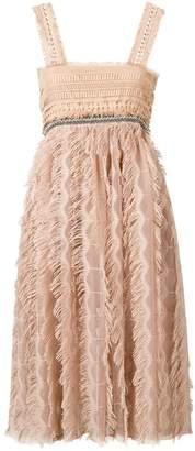 Just Cavalli nude pink dress
