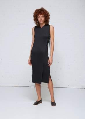 Pleats Please Issey Miyake Wrap Form Sleeveless Dress